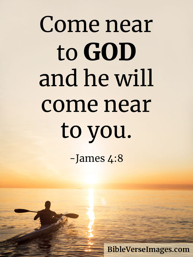 Bible Quote - James 4:8