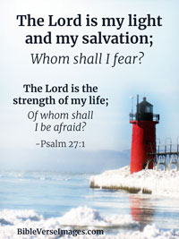 Bible Quote - Psalm 27:1