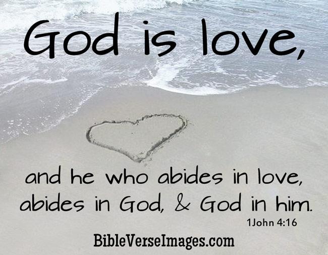 God is love verse