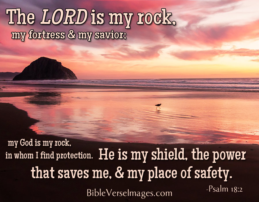 Bible Verse Psalm 18 2 Bible Verse Images