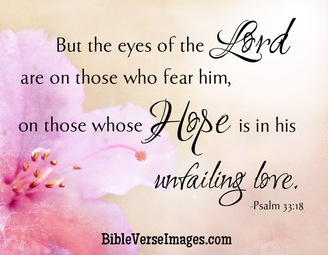 Bible Verse Psalm 33 18 Bible Verse Images