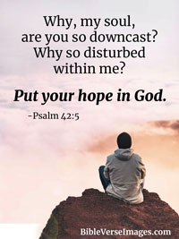 Hope Bible Verse - Psalm 42:5