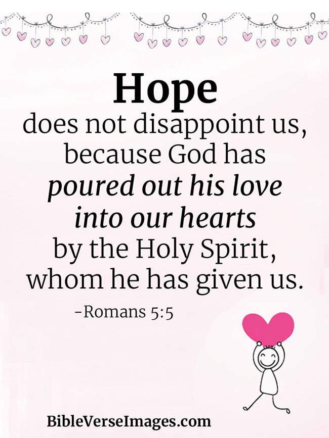 Quotes from the bible about hope
