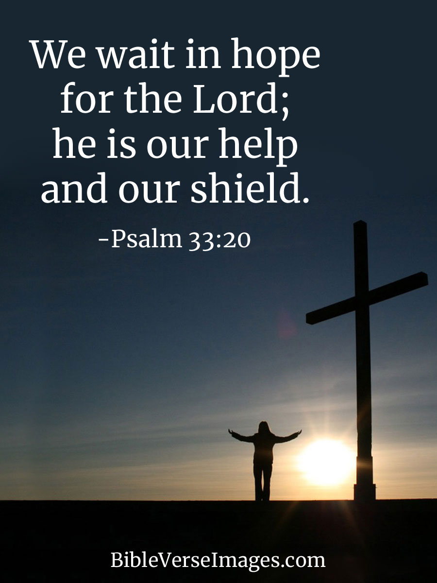 Bible Quotes About Hope Bible Verse about Hope   Psalm 33:20   Bible Verse Images Bible Quotes About Hope