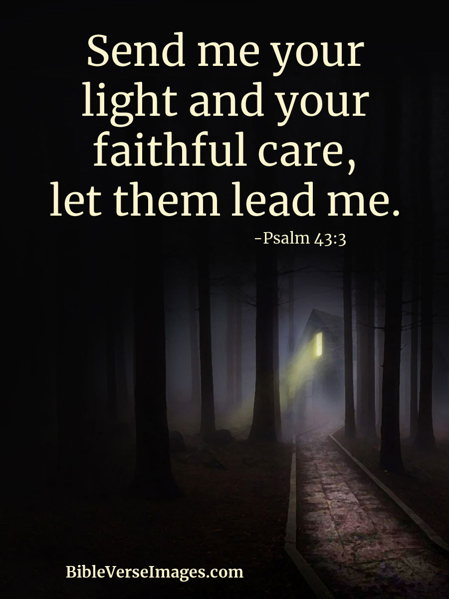 Image result for Psalm 43:3