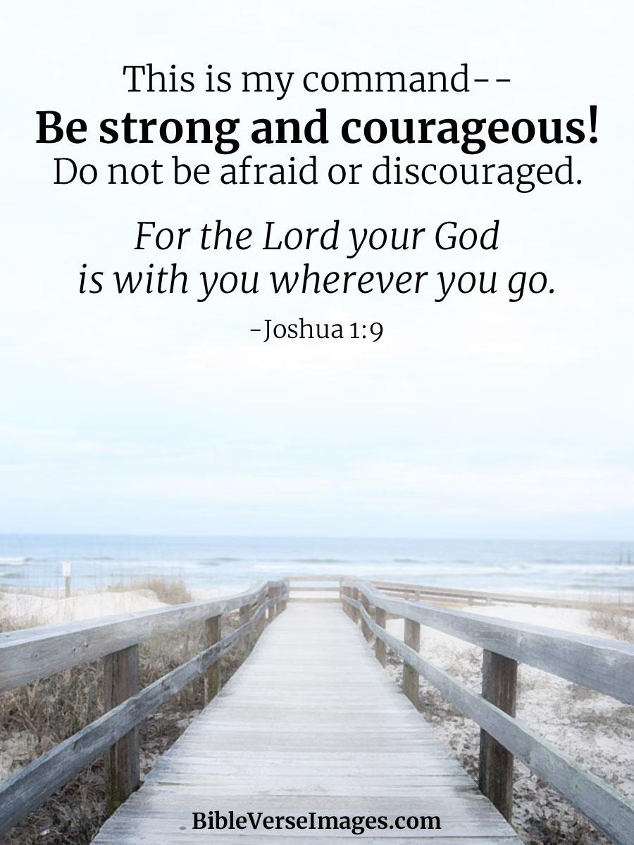 joshua 1 9 best bible verse bible verse images