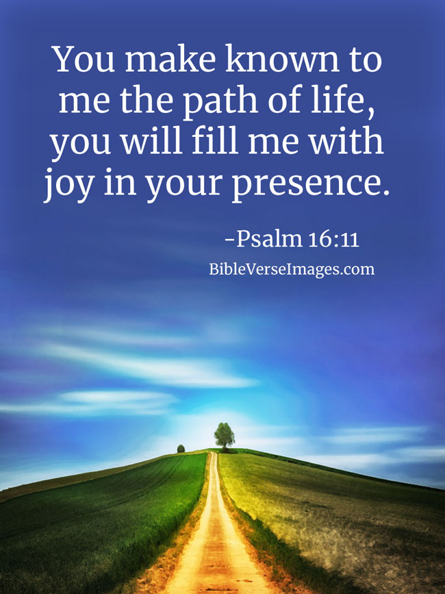 Bible Verse about Life - Psalm 16:11