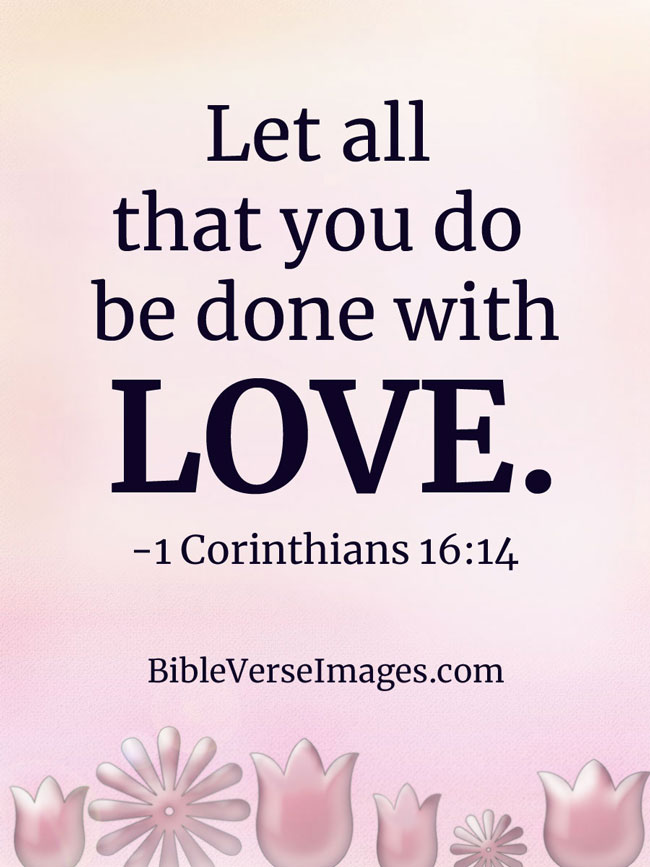 35 Bible Verses about Love - Bible Verse Images