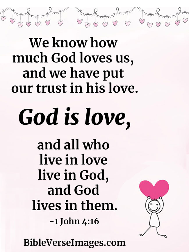 speech about love of god