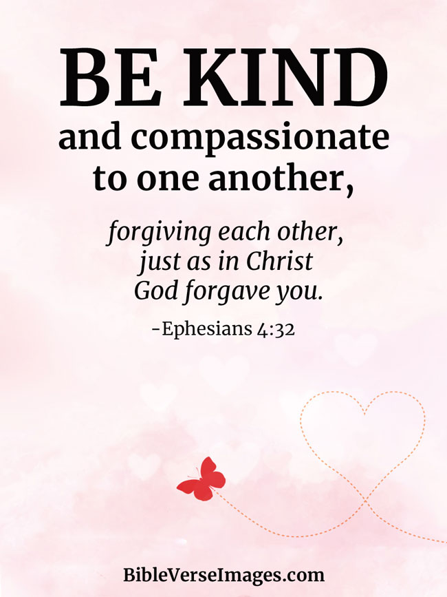 Bible Verse about Love - Ephesians 4:32