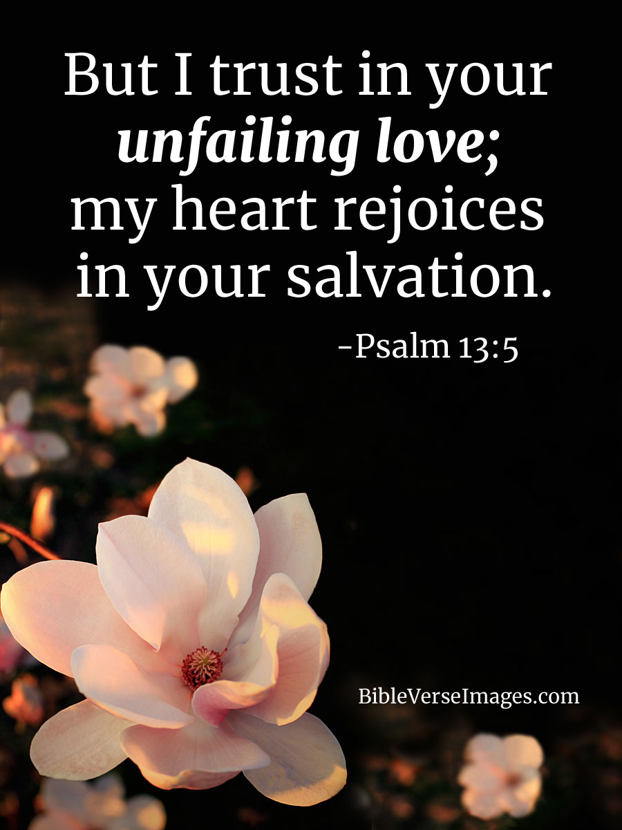 bible verse about love psalm 13 5 bible verse images