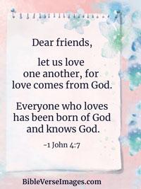 Bible Verse about Love - Romans 8:38-39 - Bible Verse Images