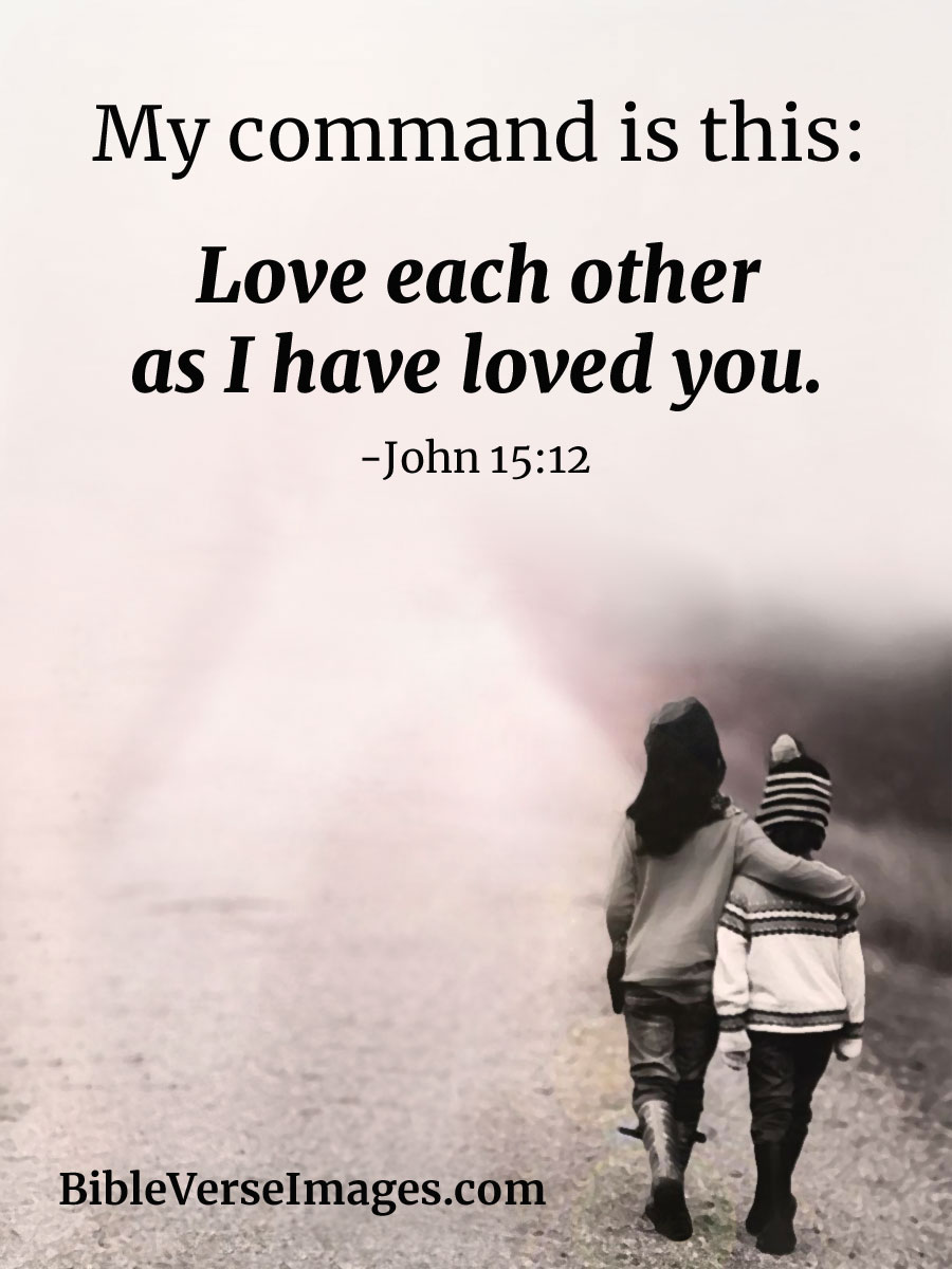 Love Bible Quotes Simple Bible Verse About Love  John 1512  Bible Verse Images