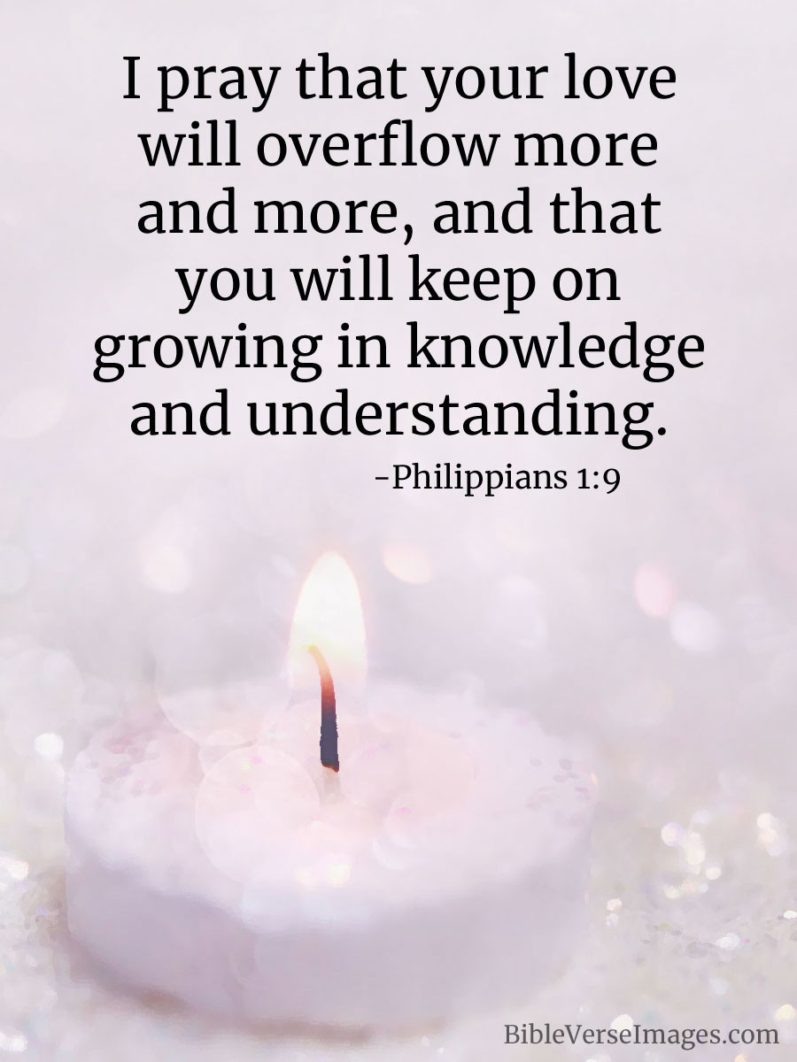 Bible Verse About Marriage Philippians 1 9 Bible Verse