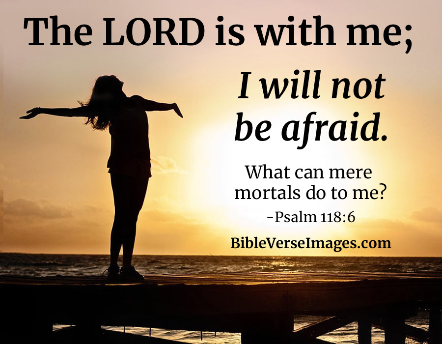 bible verse for worry and anxiety psalm 118 6