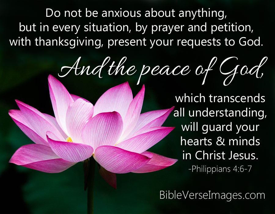 Image result for Philippians 4:6